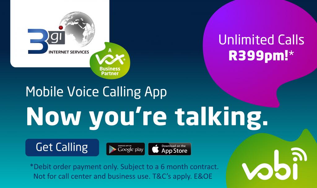 Vobi Unlimited Voice Calling